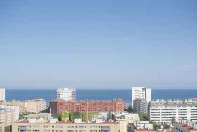 Apartment building in the seaside district of Barcelona